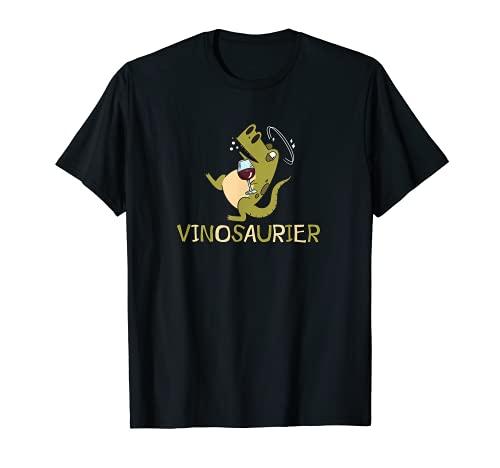 Vinosaurus Vinosaurier Weingläser I Wein und...