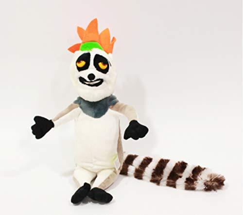 N/D Niedliches Madagaskar Plüschtier Pinguin Löwe Alex Zebra Marty Giraffe Melman Nilpferd Gloria Pelucia...