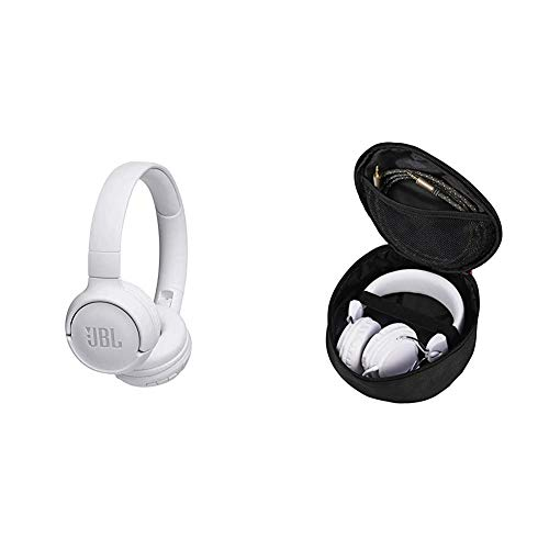 JBL Tune500BT On-Ear Bluetooth-Kopfhörer - Musik Streaming bis zu 16 Stunden mit nur einer Akku-Ladung Weiß...