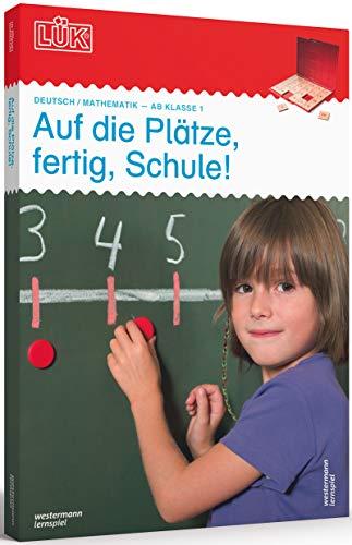 LÜK-Sets: LÜK-Set: Auf die Plätze, fertig, Schule! (Cover Bild kann abweichen): Kasten + Übungsheft/e /...