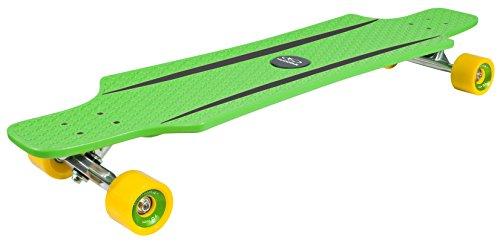 HUDORA ABEC 7 Longboard Cruise Star, Skateboard, grün