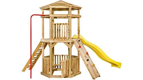 GARTENPRO Set: Kinderspielturm Crazy Climber