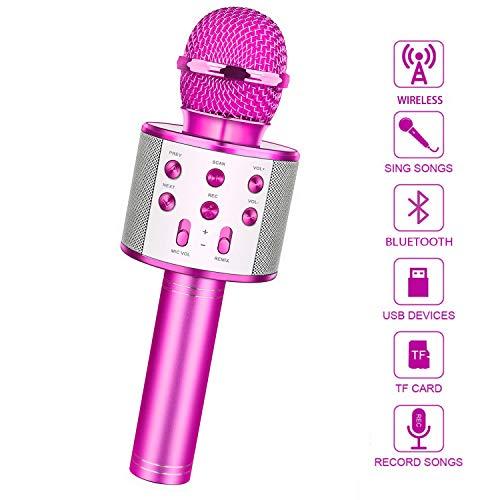 LetsGO toyz Mädchen Geschenke 4-12 Jahre, Kinder Mikrofon Kinderspielzeug ab 4-12 Jahre Spielzeug Mädchen...