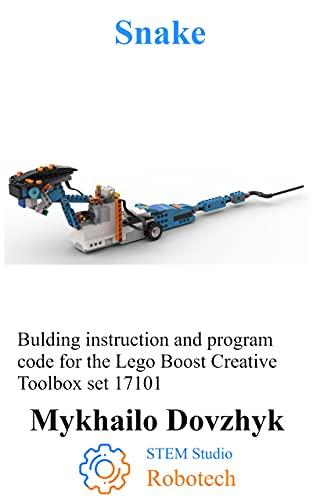 Snake: Bulding instruction for the Lego Boost set + program code...