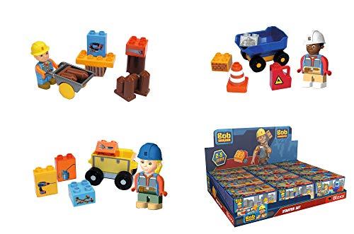 BIG Spielwarenfabrik 800057139 - PlayBIG-Bloxx Bob der Baumeister Starter Baustein-Set, kompatibel mit...