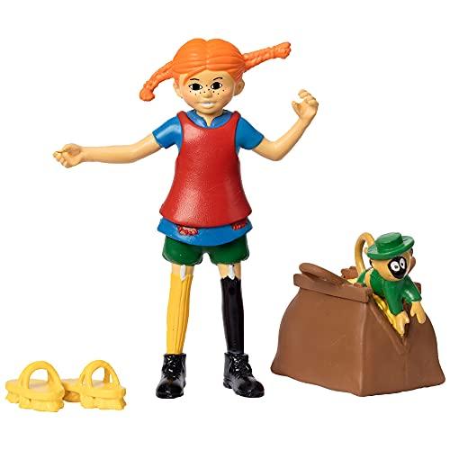 Micki & Friends 44379300 - Pippi Langstrumpf Spielfiguren - Pippi,...