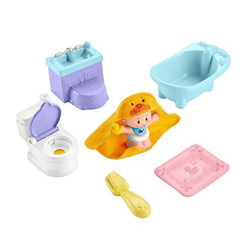 Fisher-Price GKP66 - Little People Babys Badezeit-Spielset für...