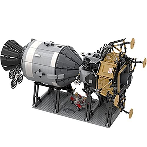 Bausteine Raumschiff Modell, 7094 Stücke Saturn V Apollo Raumschiff...