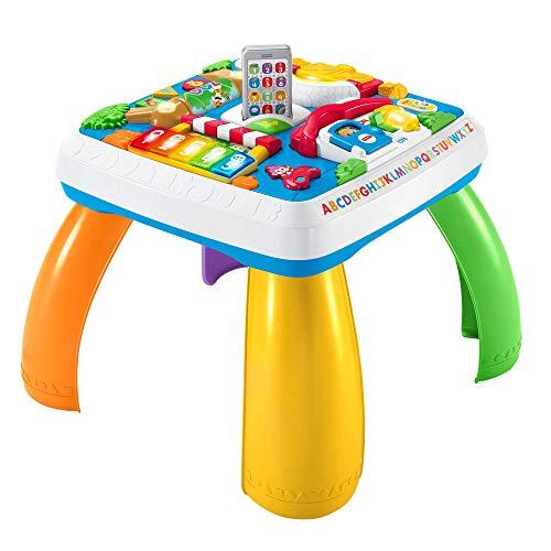 Fisher-Price HBB67- Lernspaß Spieltisch, Lernspielzeug mit Lichtern,...