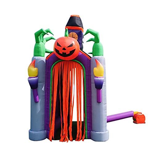 Aufblasbare Halloween Kinderhüpfburg Outdoor Große Hüpfburg Familie...