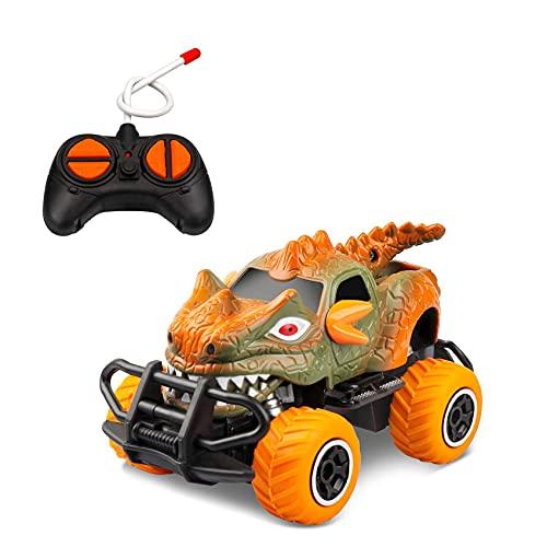 Fauge Dinosaurier Spielzeug Auto RC Turck für 3-7 Jahre alt, 4-Kanal...