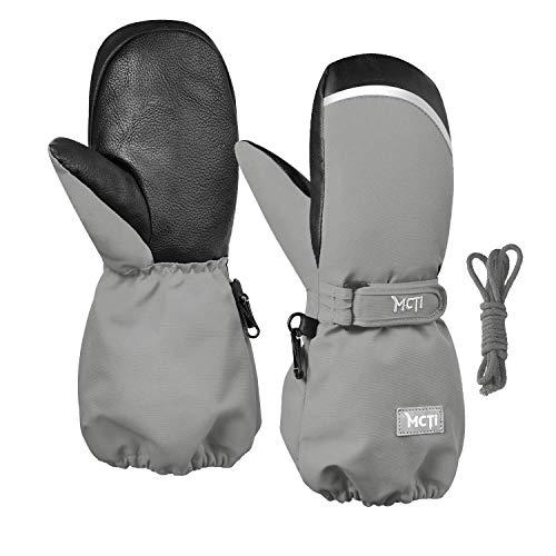 Kineed Fäustlinge Kinderhandschuhe Wasserdicht Handschuhe Kleinkind Snowboard Skihandschuhe 1-15 Jahre...