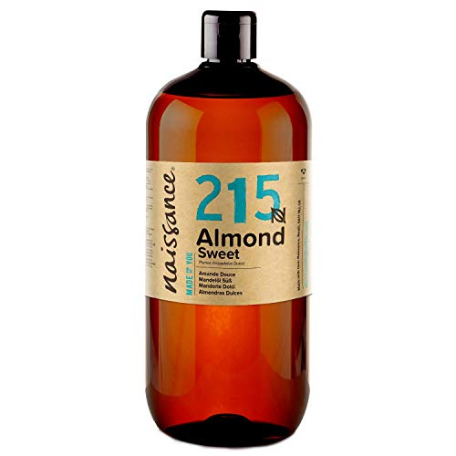 Naissance natürliches Mandelöl süß 1 Liter (1000ml) - Vegan, gentechnikfrei - Ideal zur Haut- und...