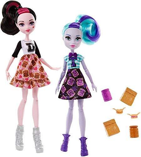 Monster High School Spirit Draculaura und Twyla Puppe,...