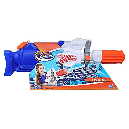 Super Soaker Hasbro E2907EU4 Hydra, Wasserpistole mit ca. 1,9 Liter...