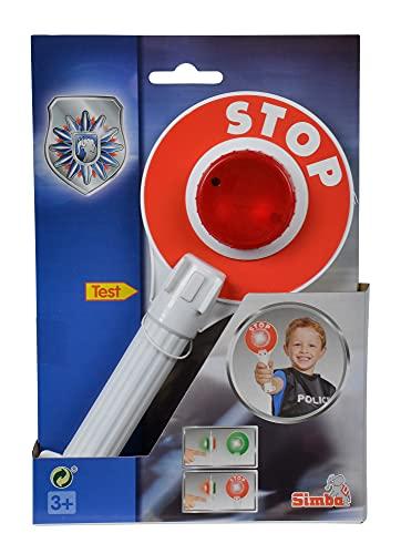 Simba 108102672 - Polizeikelle mit Lichtfunktion, 25cm,...