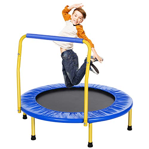 ANCHEER Trampolin Kinder Mini Trampolin für...