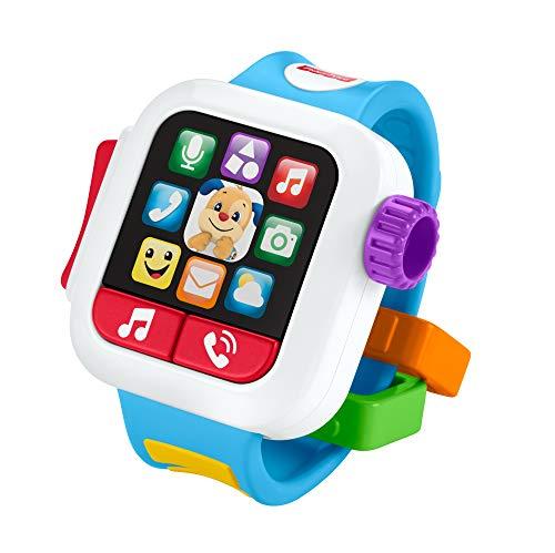 Fisher Price GJW10 GNK88 - Lernspaß Smart Watch, Musikspielzeug für...