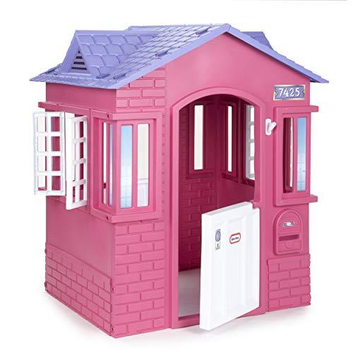 Little Tikes Cape Cottage Princess Spielhaus mit Arbeitstüren,...