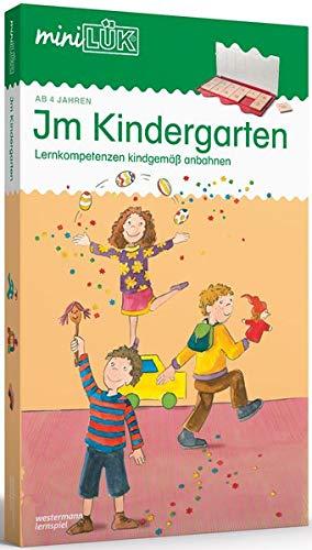 miniLÜK-Set: Im Kindergarten: Lernkompetenzen kindgemäß anbahnen: Kasten + Übungsheft/e /...