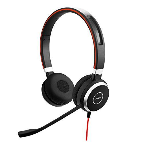 Jabra Evolve 40 MS Stereo Headset - Microsoft zertifizierte Kopfhörer...