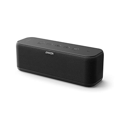 Anker SoundCore Boost Bluetooth Lautsprecher, BassUp Technologie, IPX7...