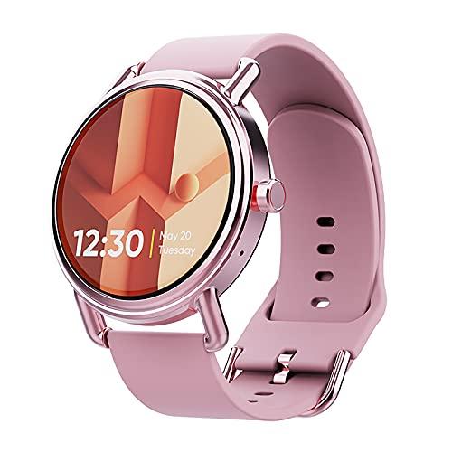 Yellow wang Smartwatch Herren,Armbanduhr mit Anruf,Fitness Tracker mit...