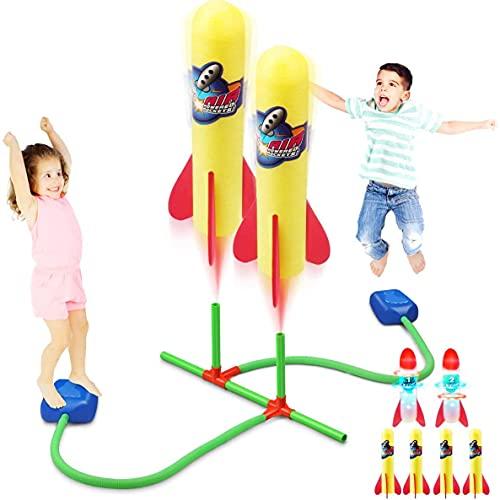 Rakete Spielzeug Duell, Druckluftrakete, Raketeentwerfer Kinder...