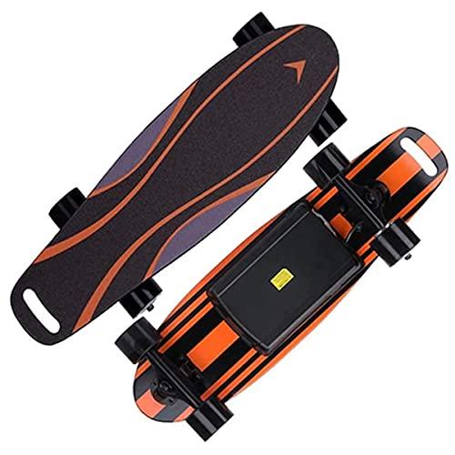 J&Z Skateboard Elektrische Skateboard Dual Bürstenlos Motor Longboard...