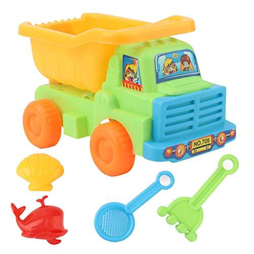 LULE Sandspielzeug-Set für Kinder, 6 Stück, Sandspielzeug, Schloss...