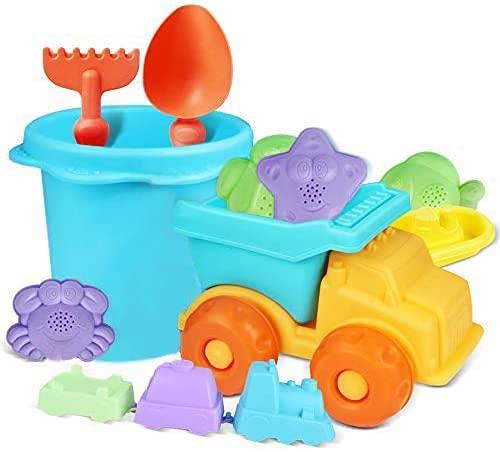 MOMMED Sandspielzeug,Eine Reihe von Sandkasten Spielzeugen(12PCS) ,...