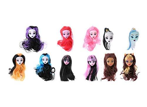 BigForest 5pcs Puppenkopf Sculpt Headsculpt doll Heads...