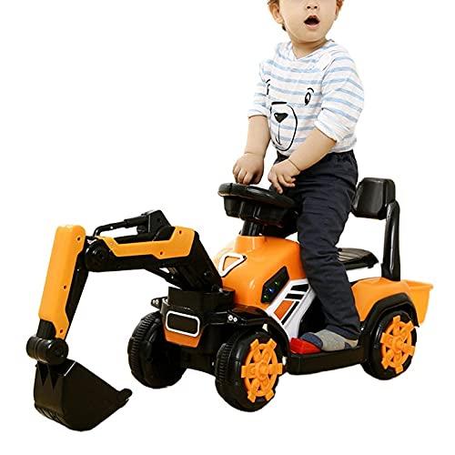 MYRCLMY Engineering Truck Modell Spielzeug, Elektrische Bagger Retour...