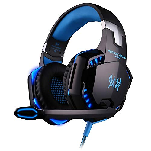 abbybubble G2000 Game Headset PC Gamer Stereo Surround Sound Deep Bass...