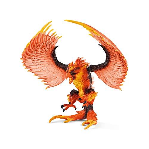 Schleich 42511 Eldrador Creatures Spielfigur - Feueradler, Spielzeug...