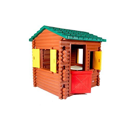 Little Tikes Blockhütte - Outdoor Sommerspaß - Spielhaus Blockhütte...