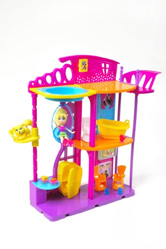 Mattel X0107 - Polly Pocket Pop Haus Spielset