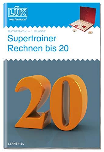 LÜK-Übungshefte: LÜK: Supertrainer Rechnen bis 20:...