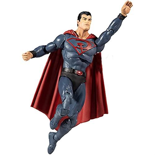 YINGYINGSM 17cm Superheld- Multiverse Superman: Cartoon-PVC-Action-...