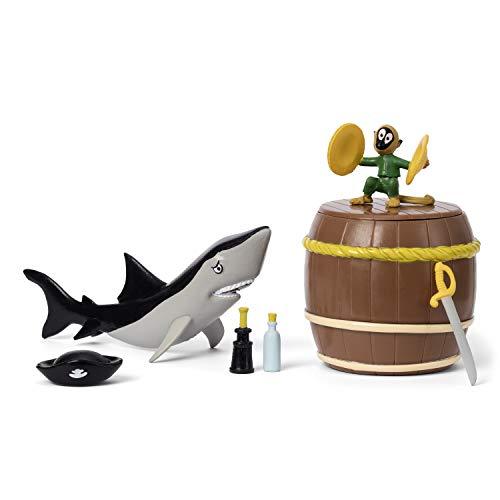 Micki & Friends 44380100 Pippi Langstrumpf Piraten-Set 7-teilig:...