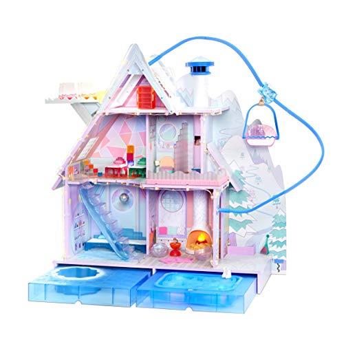 L.O.L. Surprise! 562207E7C Chalet Winter Disco - Großes Puppenhaus mit Licht- und Soundeffekten und...