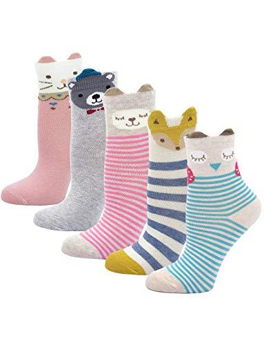 Kinder Socken Bunt Gemustert Kleinkind Mädchen Socken aus Baumwolle...
