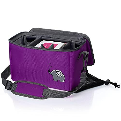 Musikbox-Tasche für Toniebox, Tonies und Zubehör   seepferdchenlila...