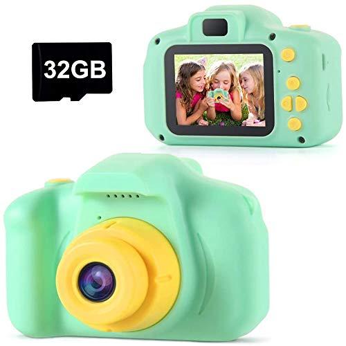TekHome Kinder Kamera, Spielzeug ab 3 4 5 6 Jahren für Jungen ,Geschenk Mädchen 7-12 Jahre,Fotoapparat...