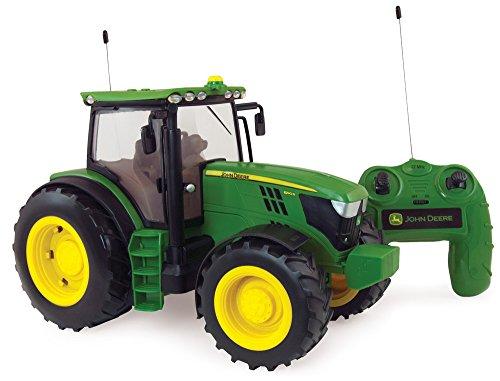 Radio Controlled JD6190R Traktor, das originalgetreue Replikat im Maßstab 1:16 mit Fernsteuerung, Lichter und...