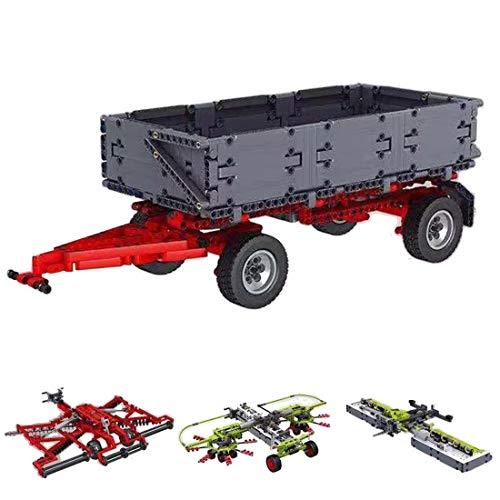 IT IF IT Technik Traktor mit Anhänger, 3098 Teile...