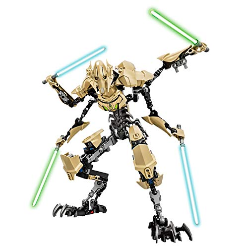 YooFit Star Wars General Grievous Anime Figuren...