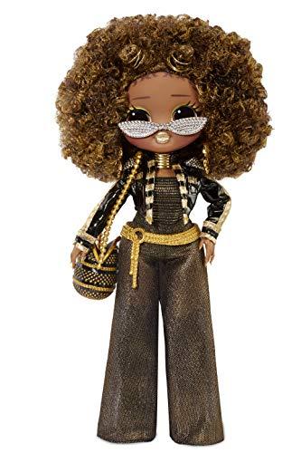 L.O.L. Surprise! 560555E7C O.M.G. Fashion Doll Royal Queen Bee, Ankleide- und Sammelpuppe mit Haaren und 20...