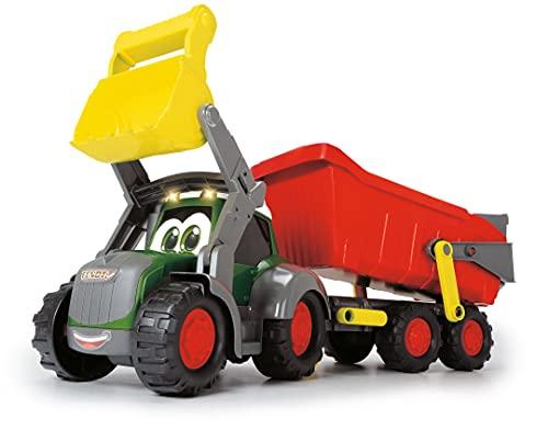 Dickie Toys 203819002 Happy Farm Trailer, Fendt Spielzeugtraktor mit...