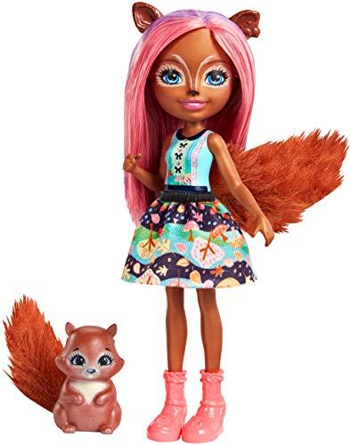 Mattel Enchantimals FMT61 Eichhörnchen-Mädchen Sancha...